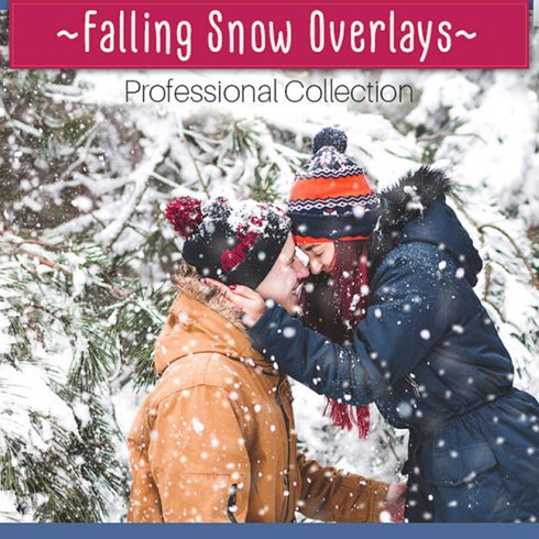 32 Falling Snow Photo Overlays - $8 - 600 15 490x490