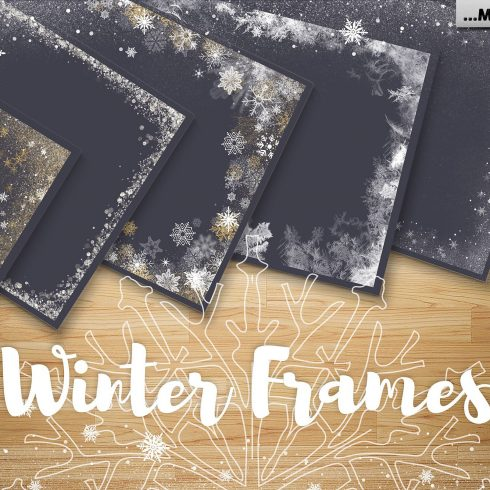 86+ Winter Frames, Snowflake Overlays, Christmas Overlays - $8 - 600 2 490x490