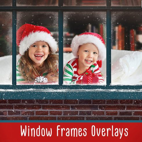 Christmas Window Frames - $8 - 600 3 490x490