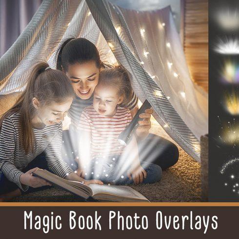 Magic Book Light Photo Overlays - $8 - 600 5 490x490