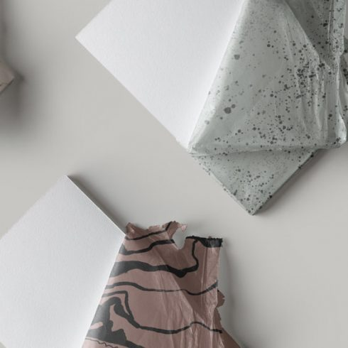 Free Minimal Wrapping Paper - 4 Types - 601 2 490x490