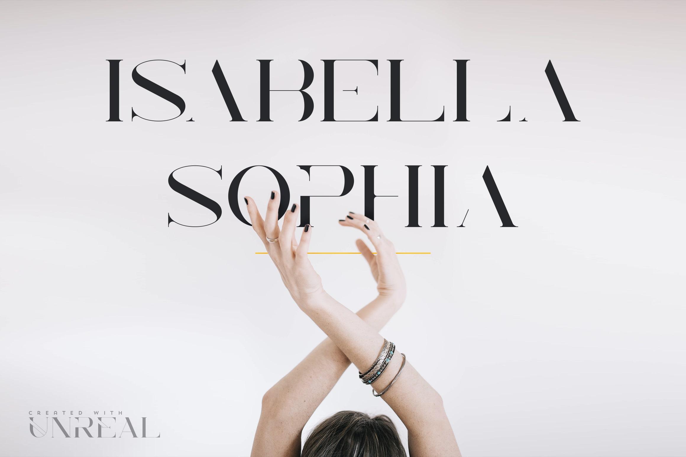 Unreal Serif Font: Latin & Cyrillic - 7 min