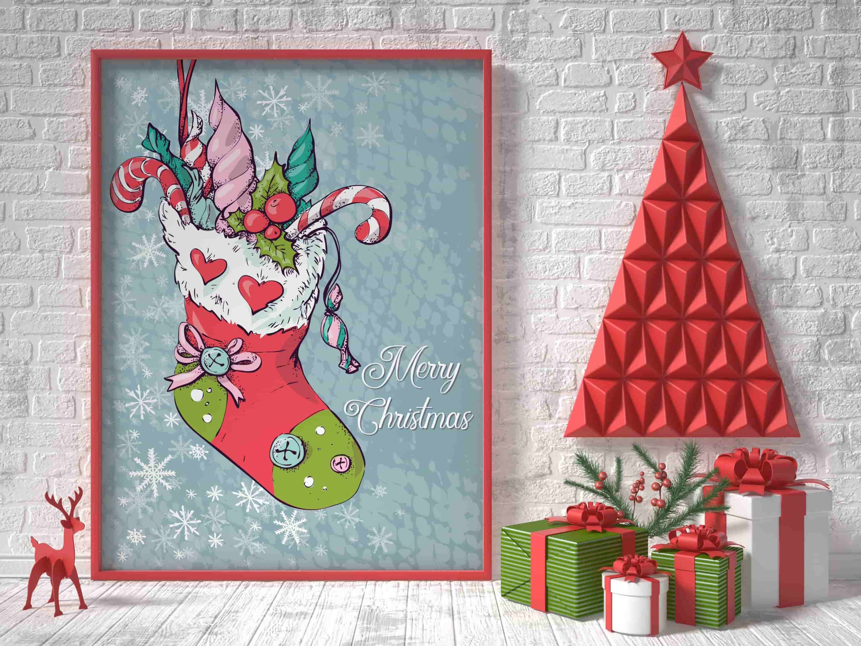 Merry Christmas Images: patterns, cards and items - 9 Image00001 min