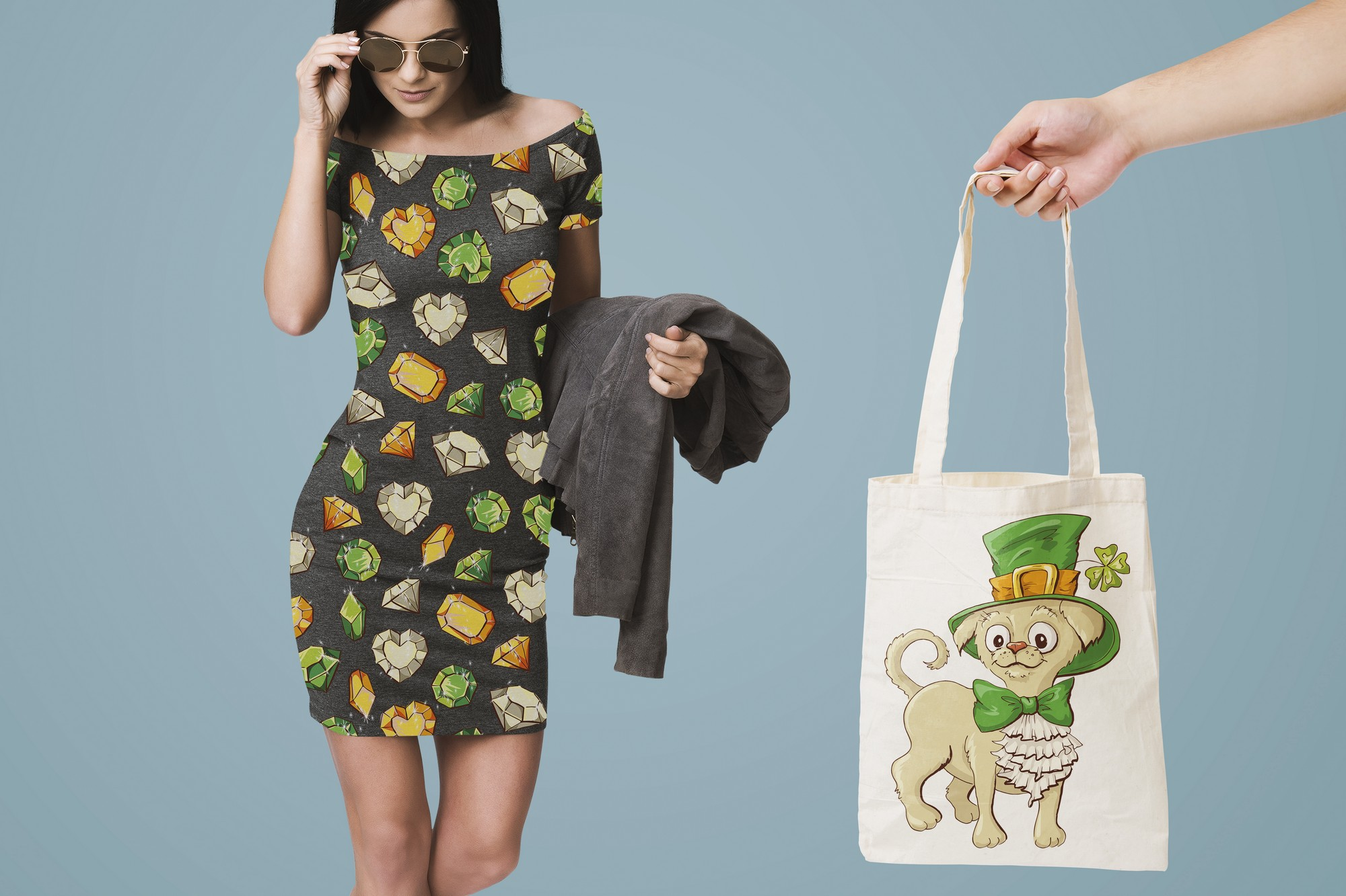Leprechaun St. Patrick's Day Illustrations Set - $21 - 9 preview