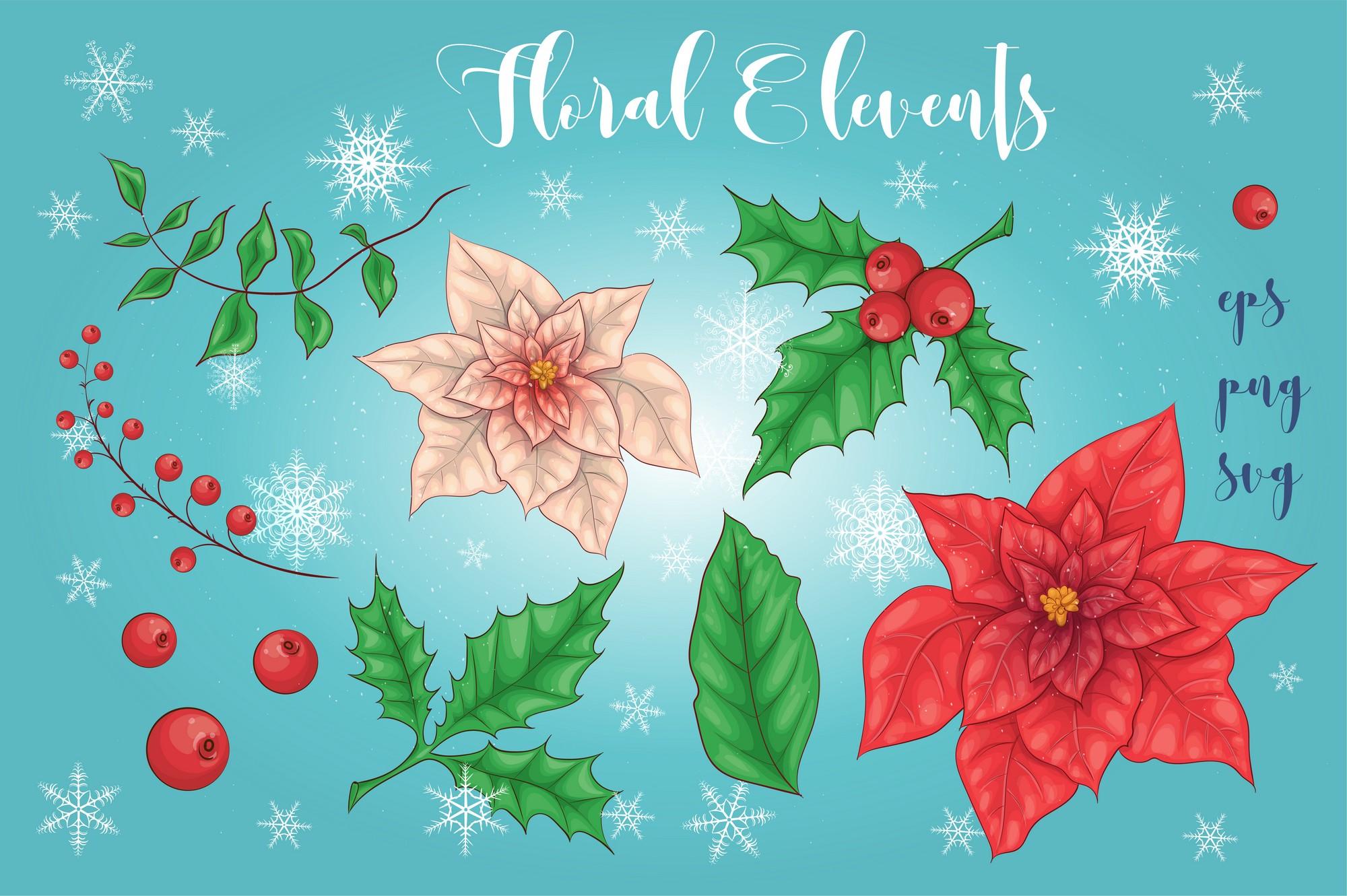 Merry Christmas Graphics Bundle - Image00003