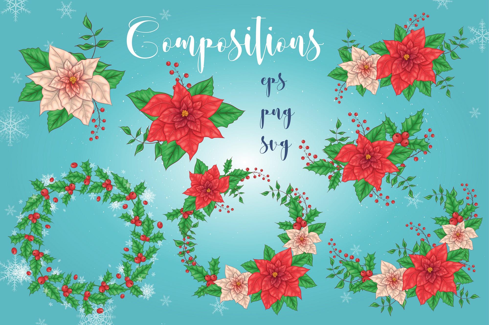 Merry Christmas Graphics Bundle - Image00004