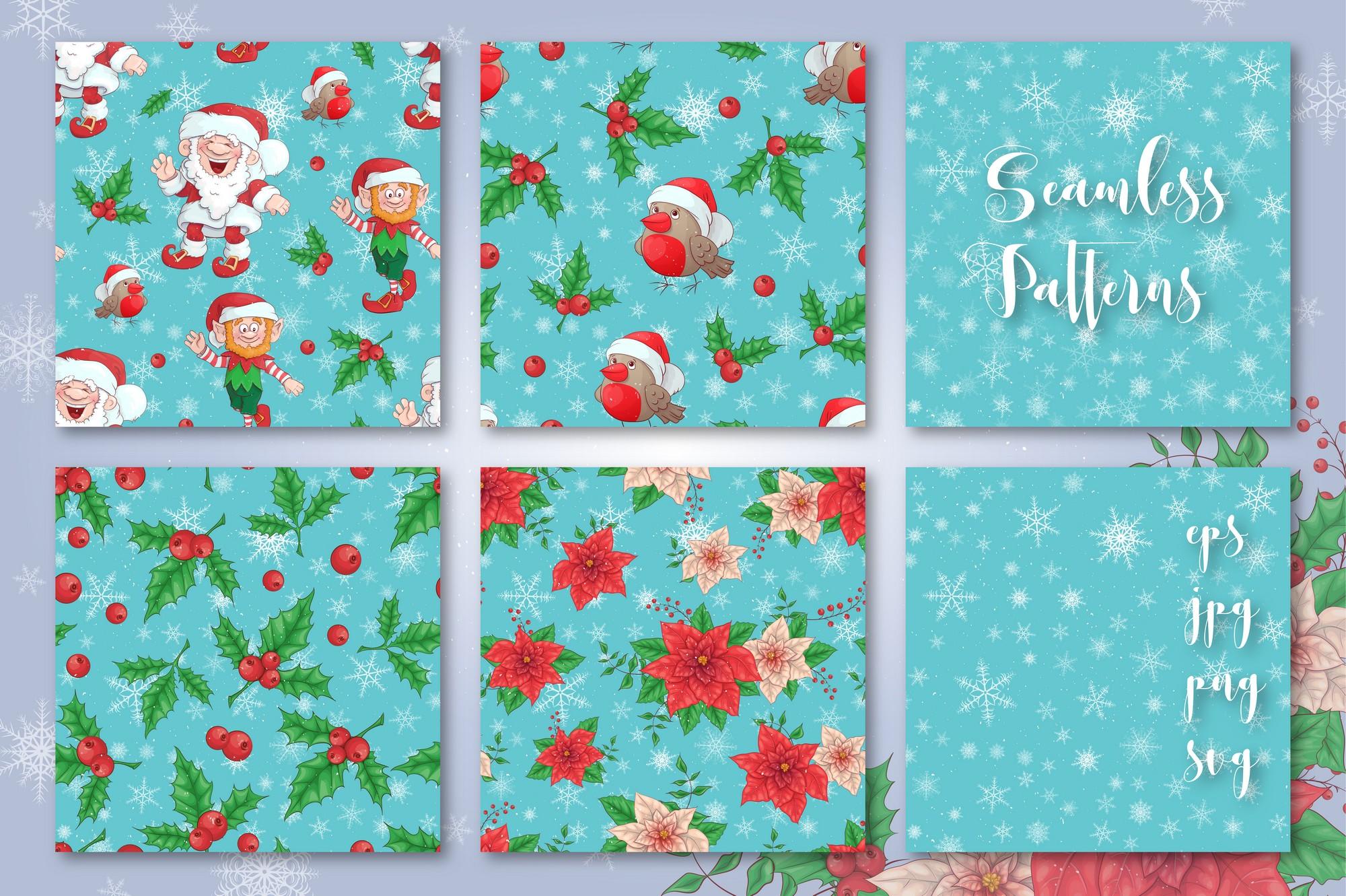 Merry Christmas Graphics Bundle - Image00006