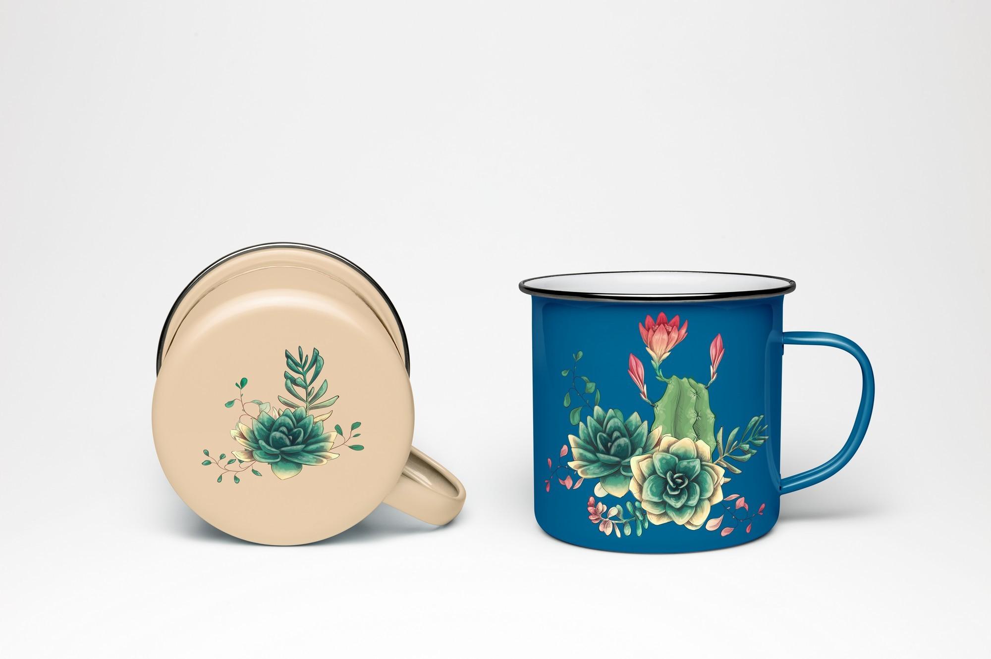 Cute Cactus Clipart: Cacti & Succulents Vectors - Image00011