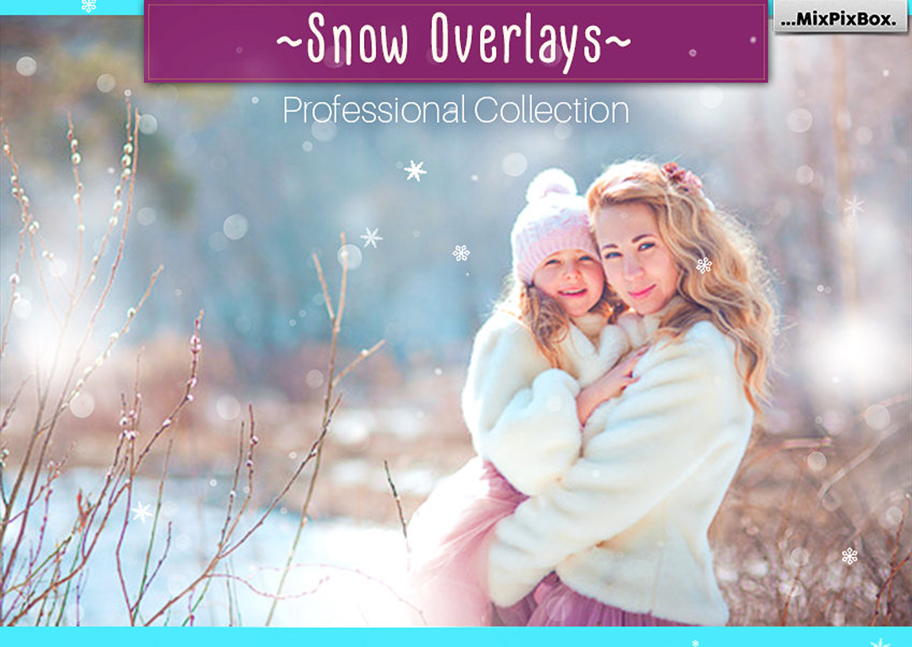 30 Overlays Natural Snow  - $8 - cover 5