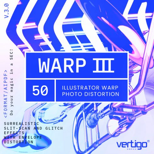 WARP Illustrator Addons with Commercial License - $34 - 00 WARP3 square 490x490