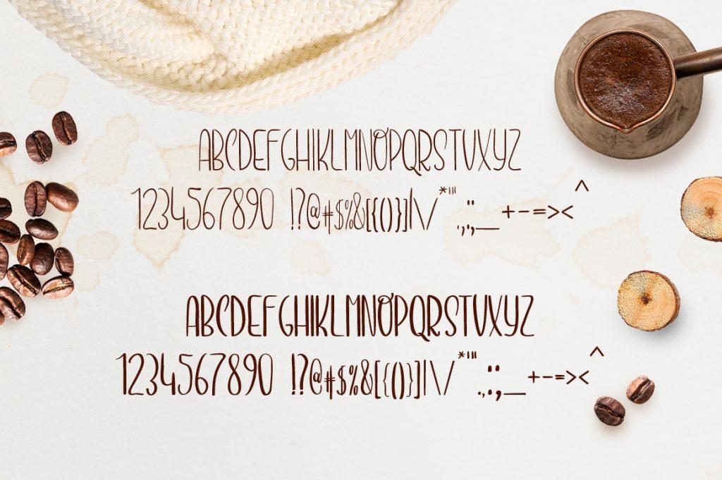 Espresso Handmade Font - $13 - 06 title