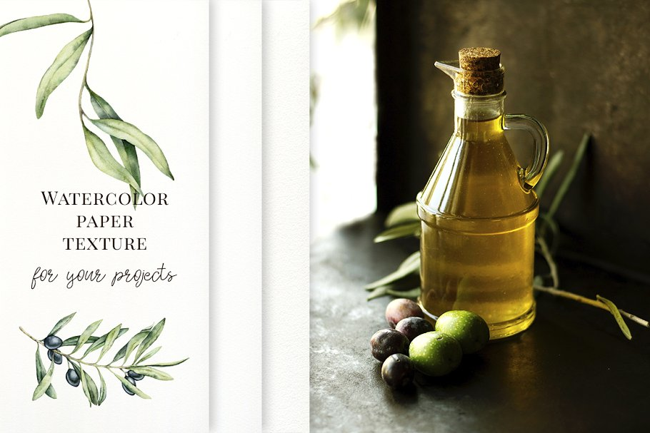 Olives Watercolor Collection - $15 - 09 1 2