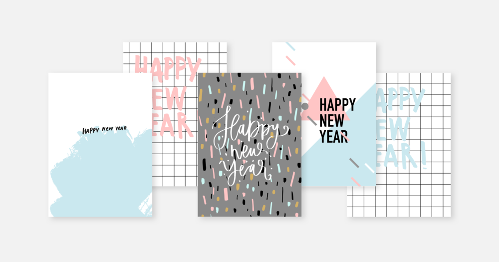 5 Free Happy New Year Postcards - 1000 15a84426d366b8986fe0699d31a89101