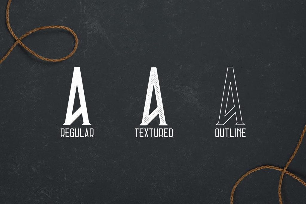 Vintage Typeface Errorist - 3 styles - $15 - 2 min