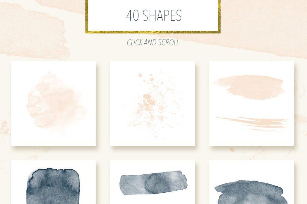 Best Botanical Pattern in 2020: Illustrations, Textures, Frames & Shapes - $18 - 4 копия