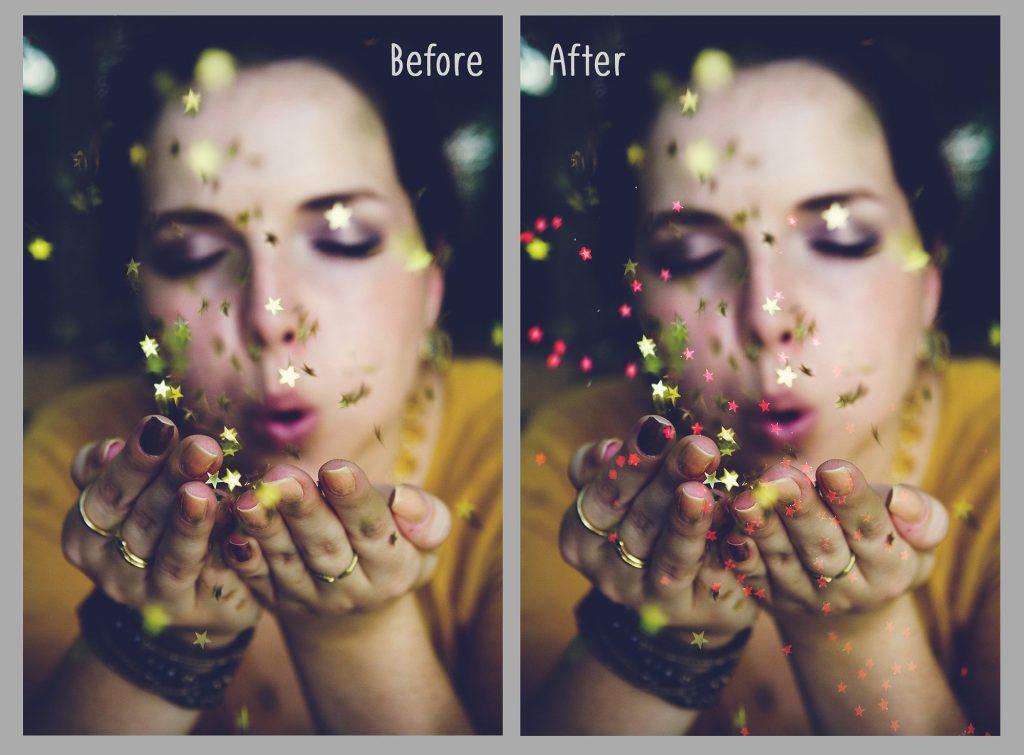 100 Photo Overlays Glitter Effect - 5