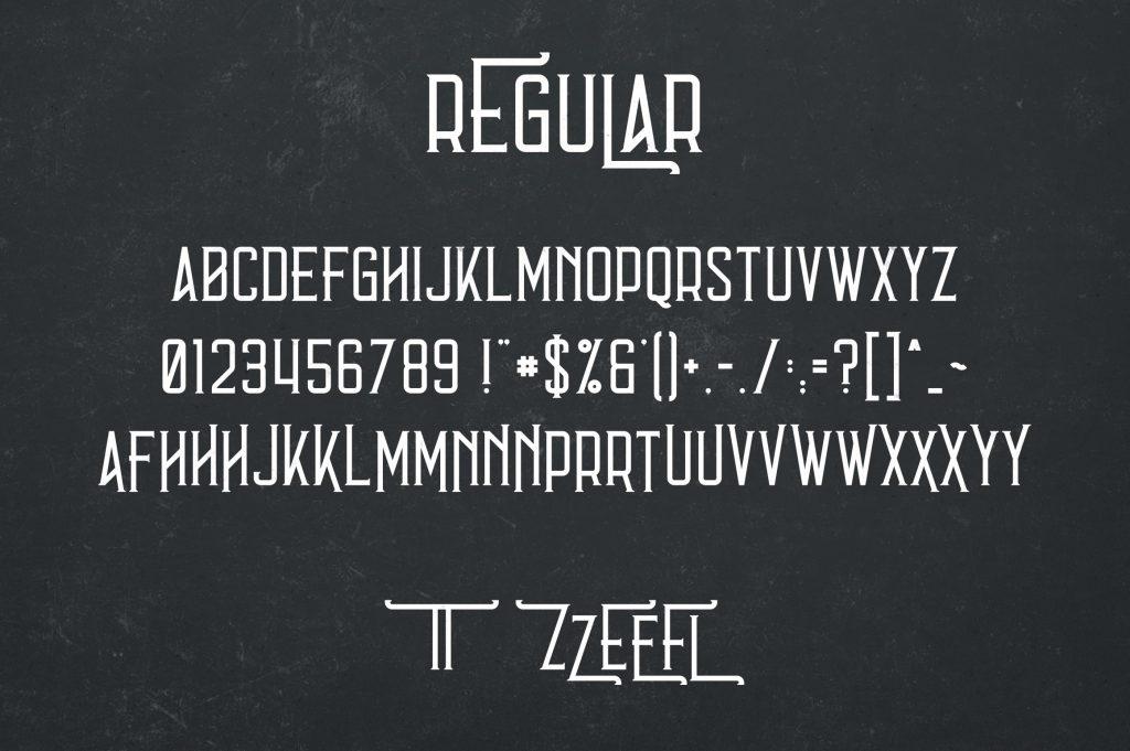 Vintage Typeface Errorist - 3 styles - $15 - 6 min