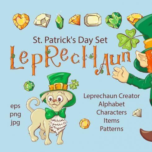 Leprechaun St. Patrick's Day Illustrations Set - $21 - 600 14 490x490