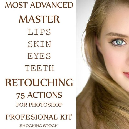 75 Skin Retouching Photoshop Actions - $20 - 600 25 490x490