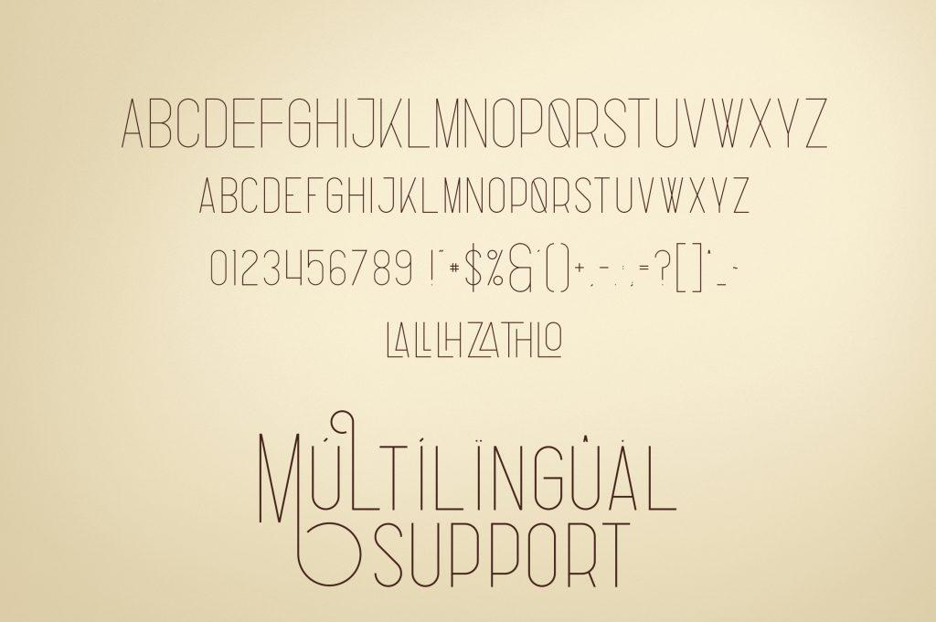 Fabulist Display Font - $15 - 7 4