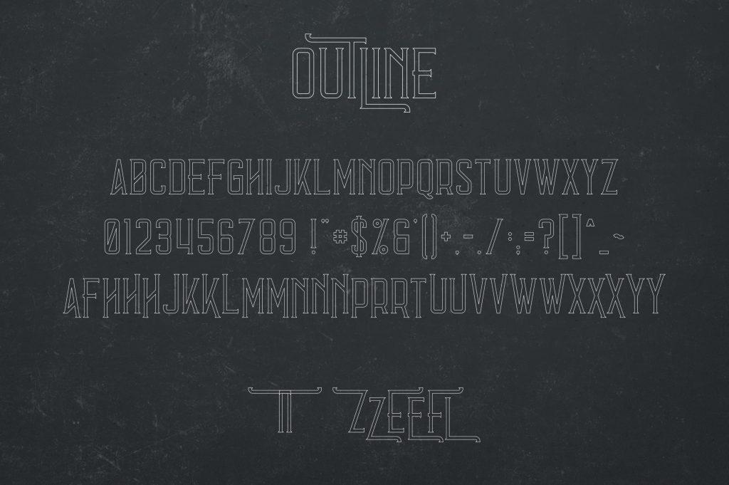 Vintage Typeface Errorist - 3 styles - $15 - 7 min