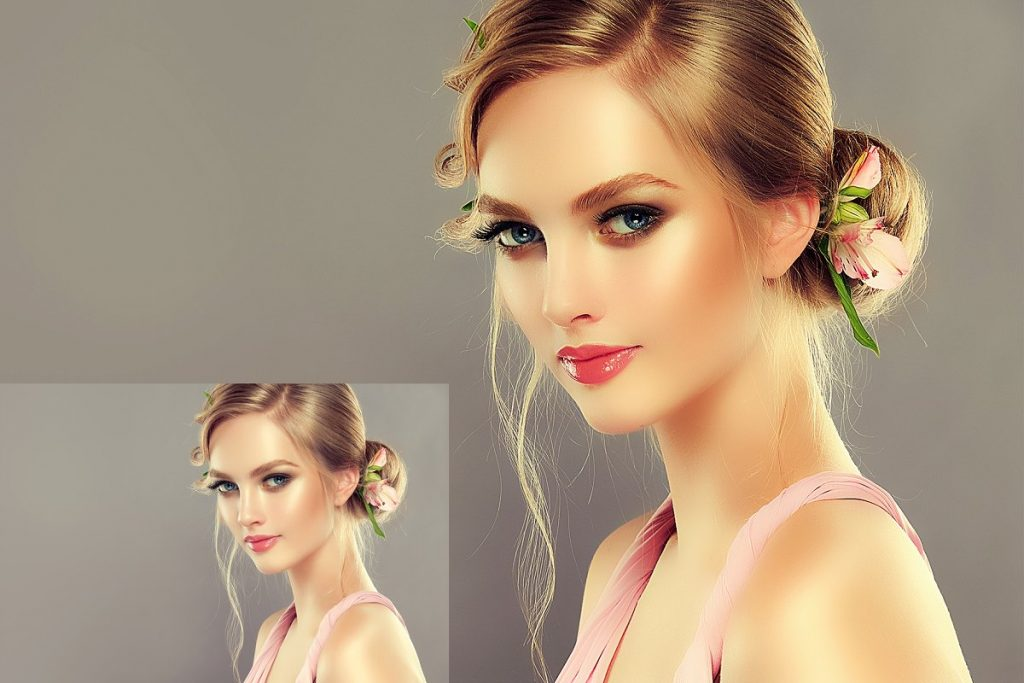 50 Photoshop Actions Retouching Skin BUNDLE, Swatches, Brushes - 8 1 3