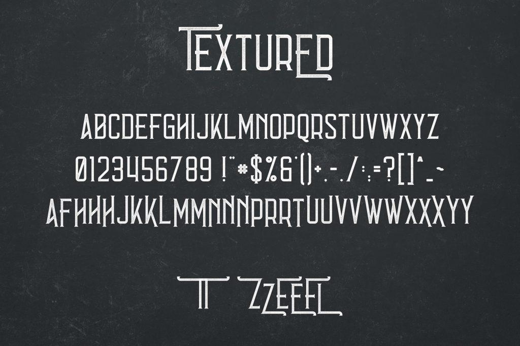 Vintage Typeface Errorist - 3 styles - $15 - 8 min