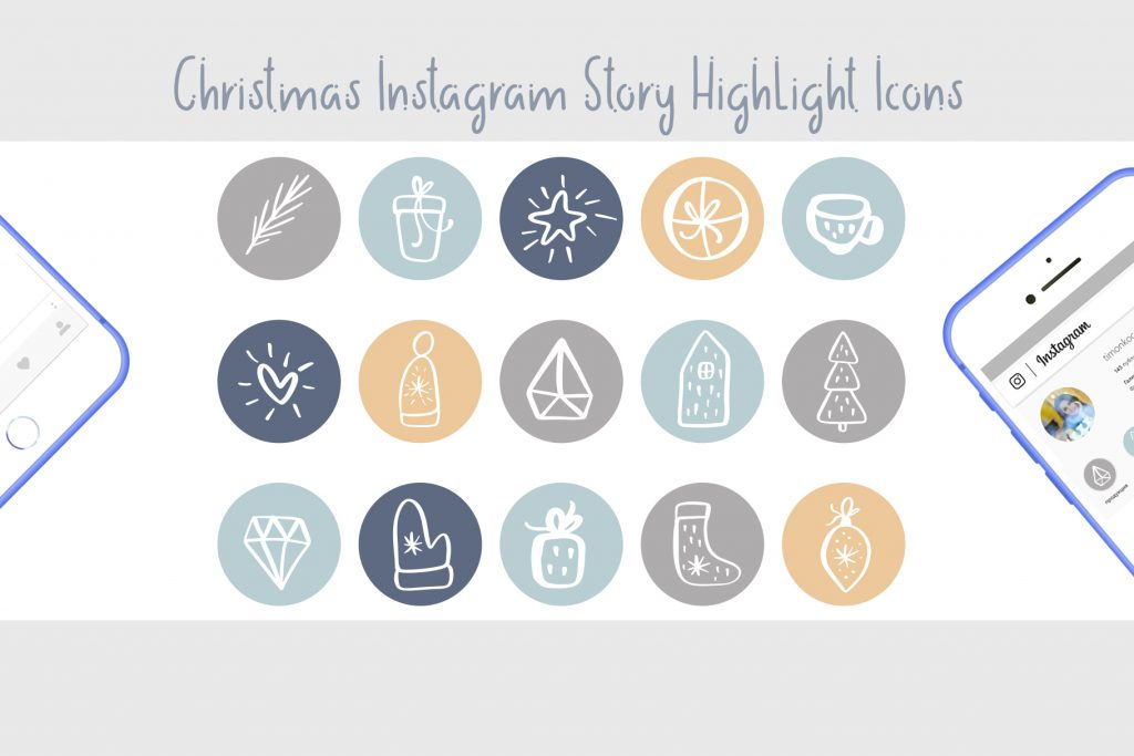 Christmas Instagram Highlight Story Icons - $9 - title03 1