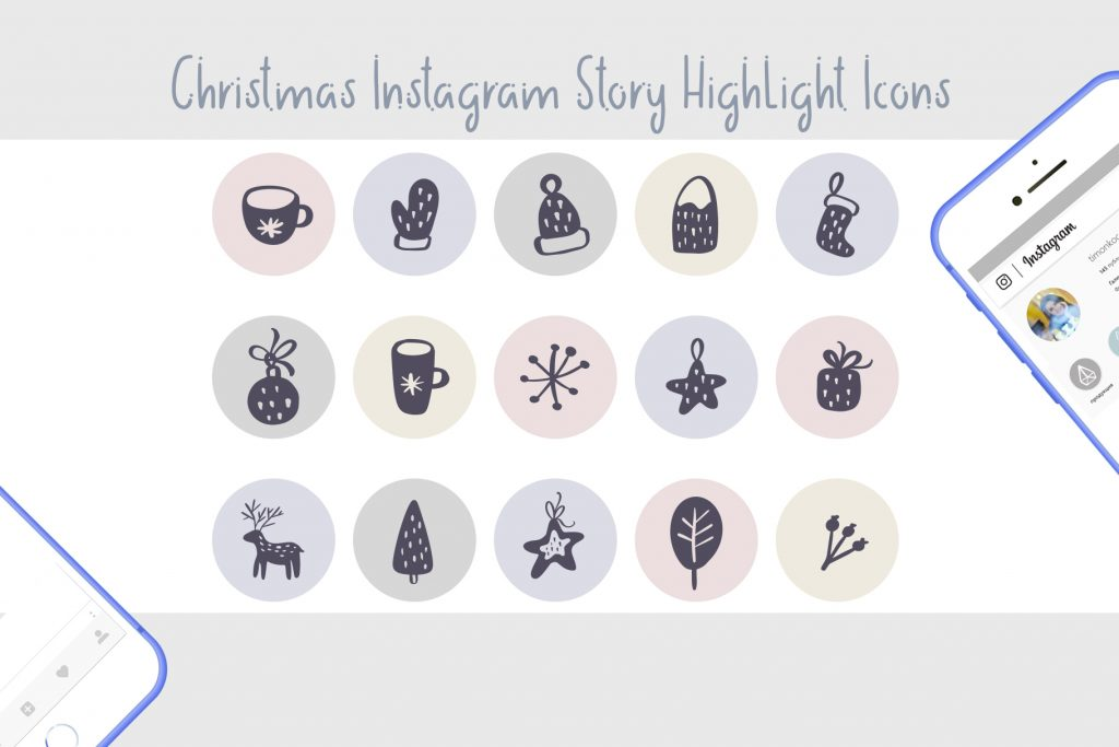 Christmas Instagram Highlight Story Icons - $9 - title04 1