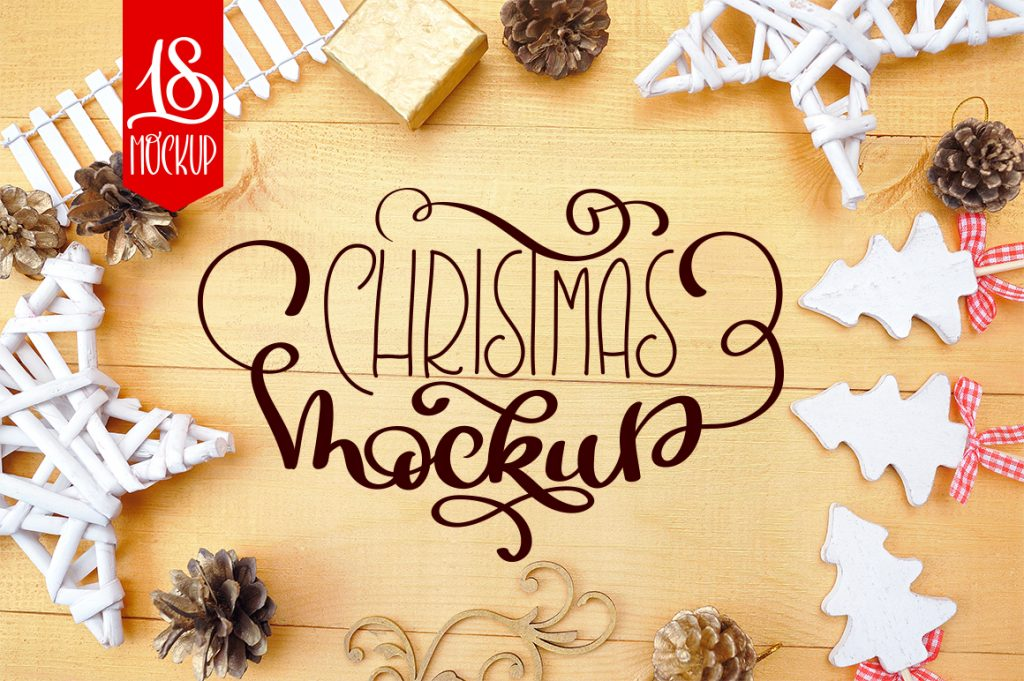 Christmas Mock Up Photos Collection - $13 - title 1