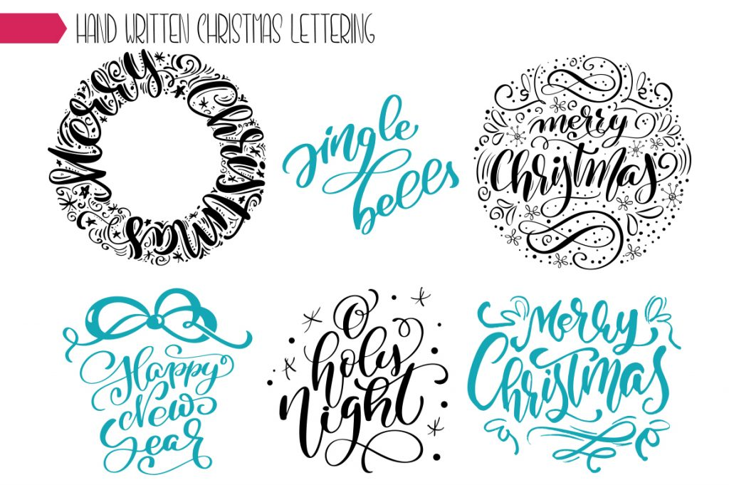 Christmas Lettering Phrases - $13 - title 6