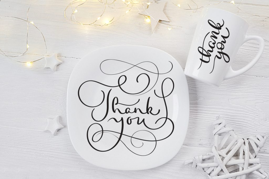 Thank You Calligraphy Lettering Collection - $4 - title 7 1