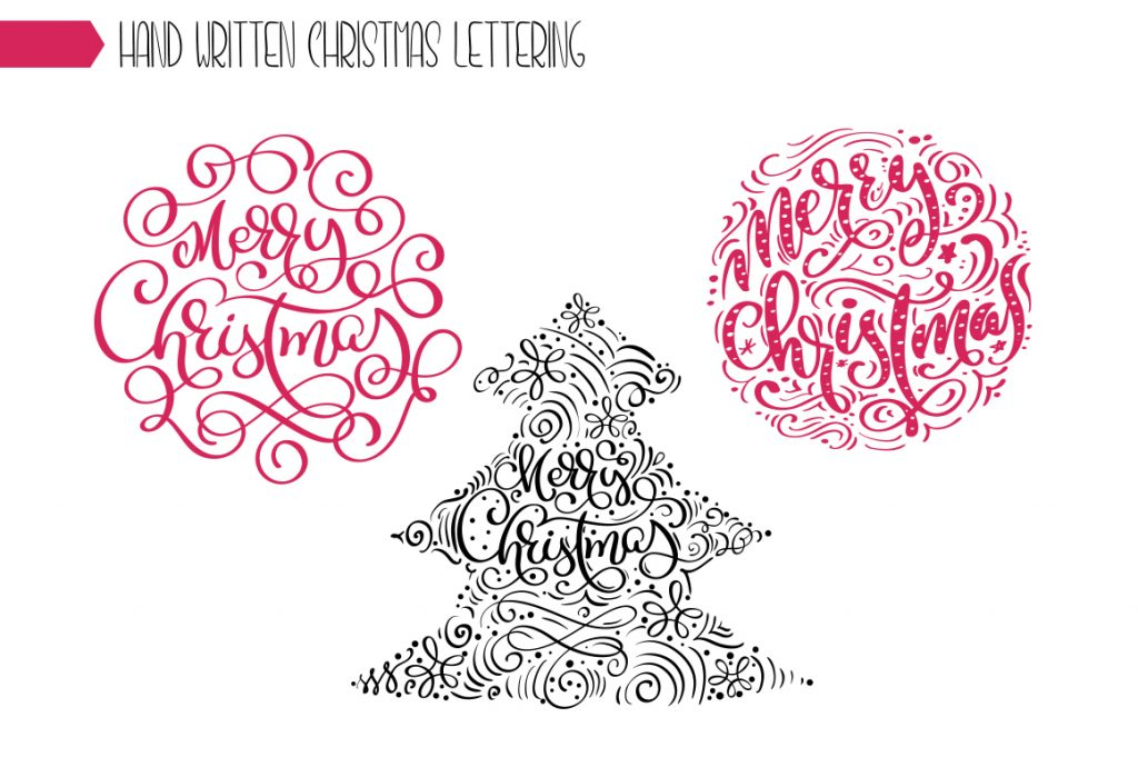 Christmas Lettering Phrases - $13 - title 7