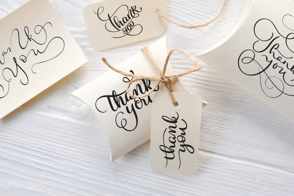 Thank You Calligraphy Lettering Collection - $4 - title 8 1