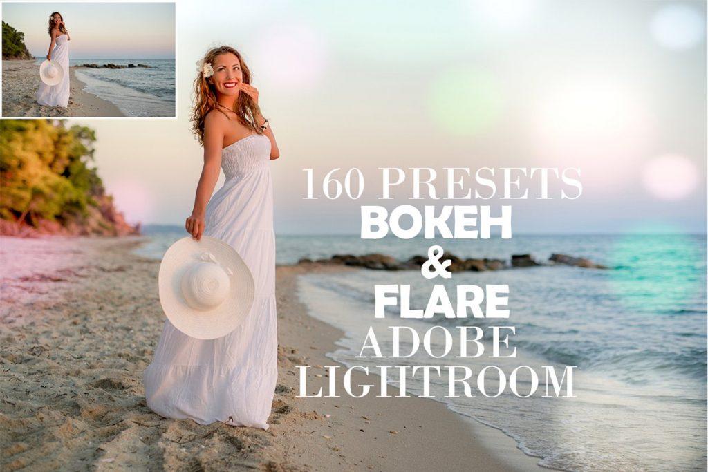 160 Bokeh & Flare Lightroom Presets - $10 - 1 1 1