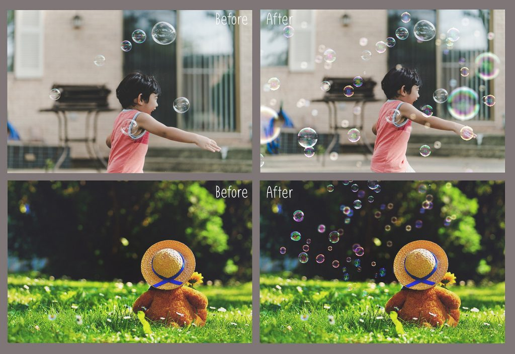 100 Bubbles Photoshop Overlays - $8 - 1 10