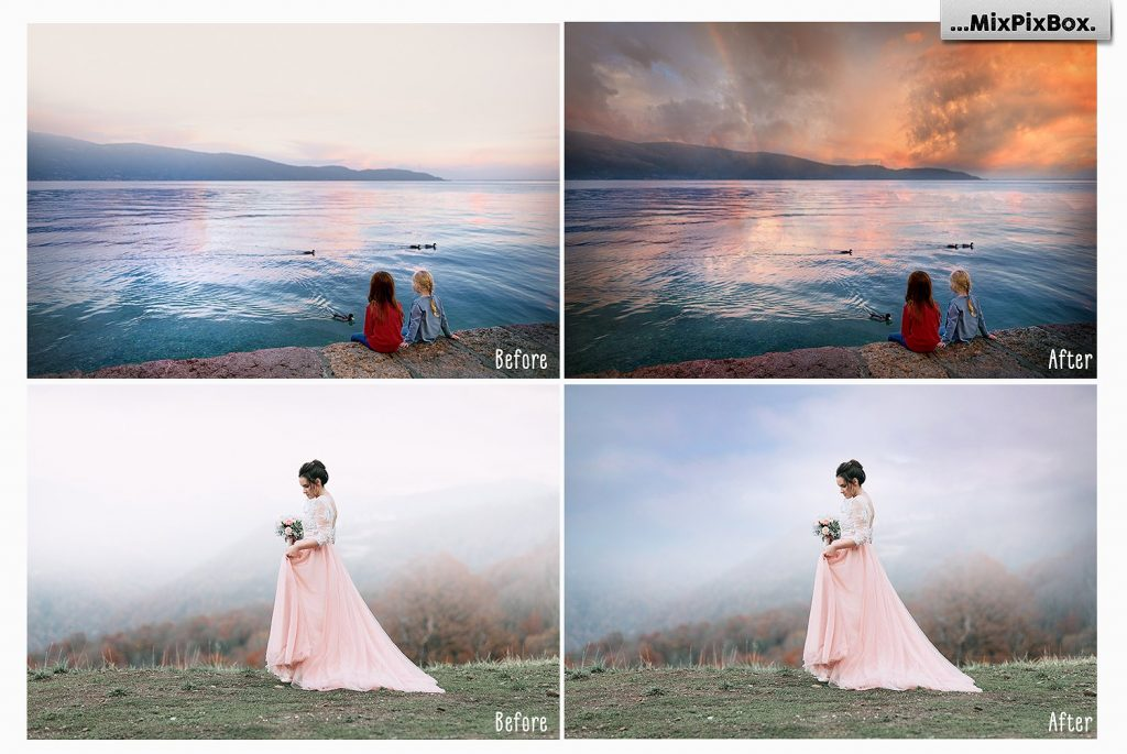 Beautiful Sky Photography Overlays - $8 - 1 4