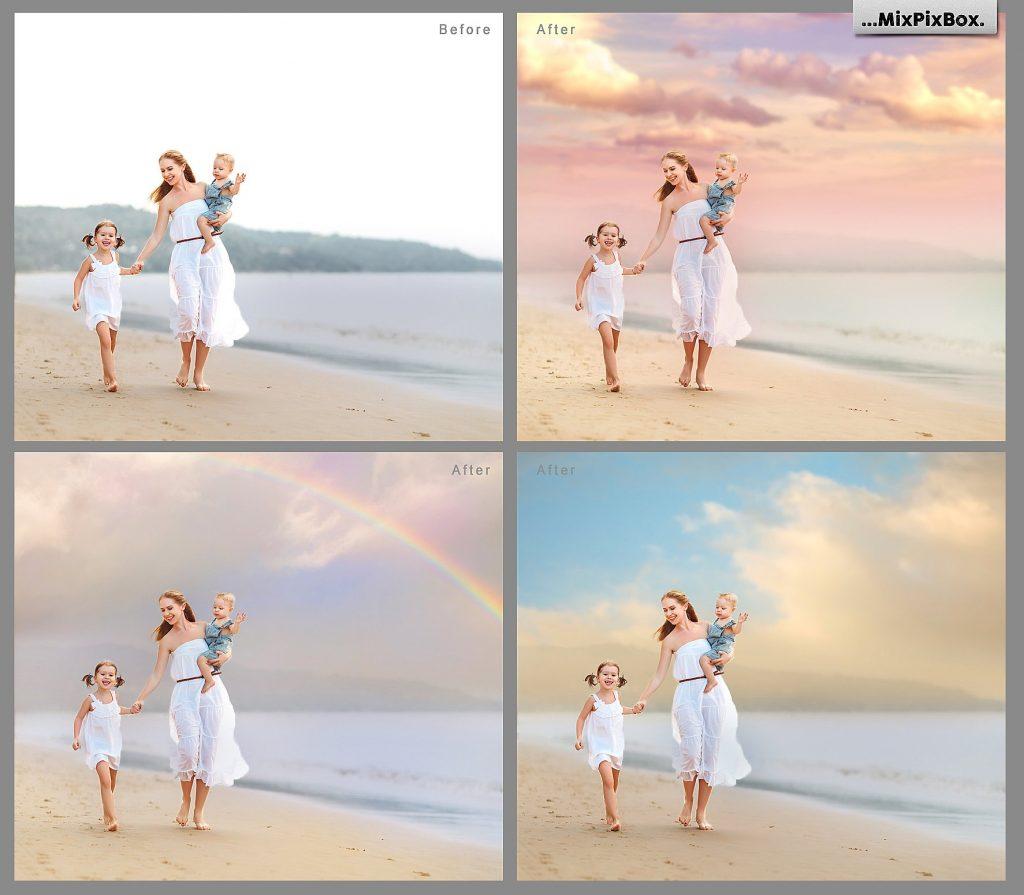 Romantic Sky Photo Overlays - $9 - 1 7