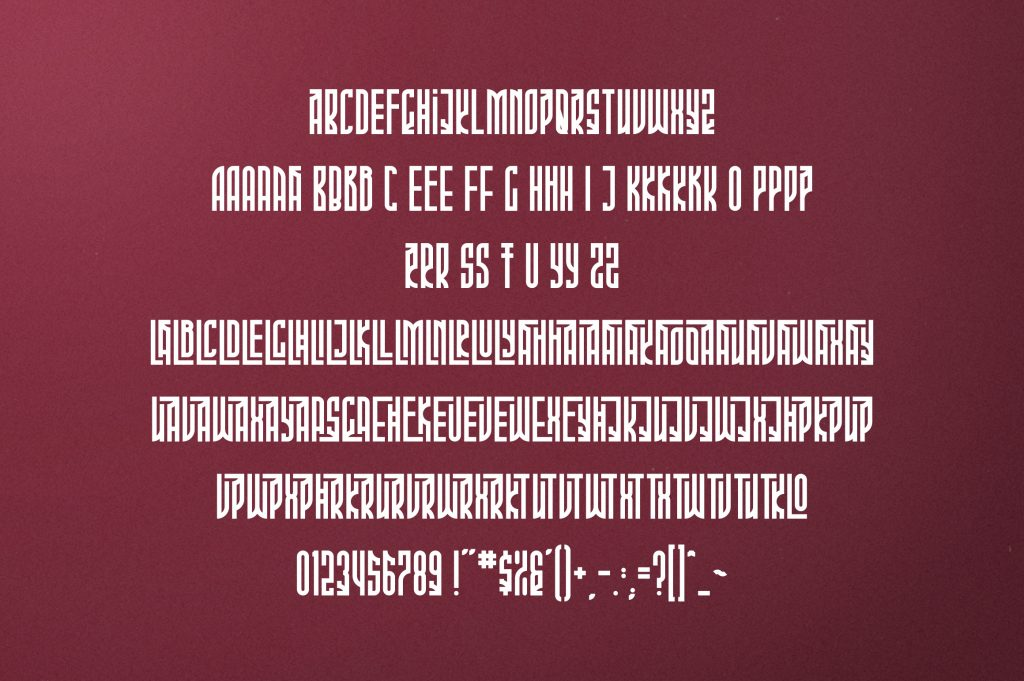 Phoeniks Display Font - $15 - 10 1