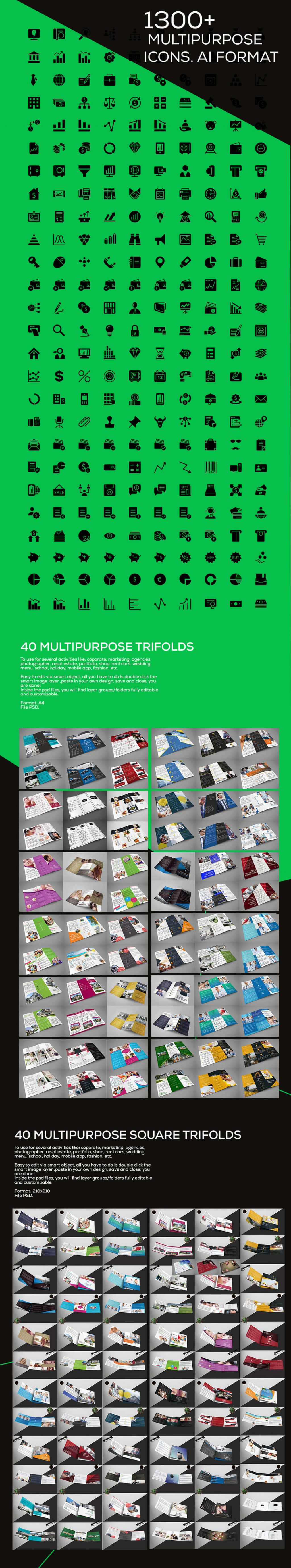 1500 Print and Web Templates - 1500 print templates bundle nifty graphic bypeople deals 4
