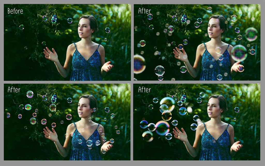 100 Bubbles Photoshop Overlays - $8 - 2 10
