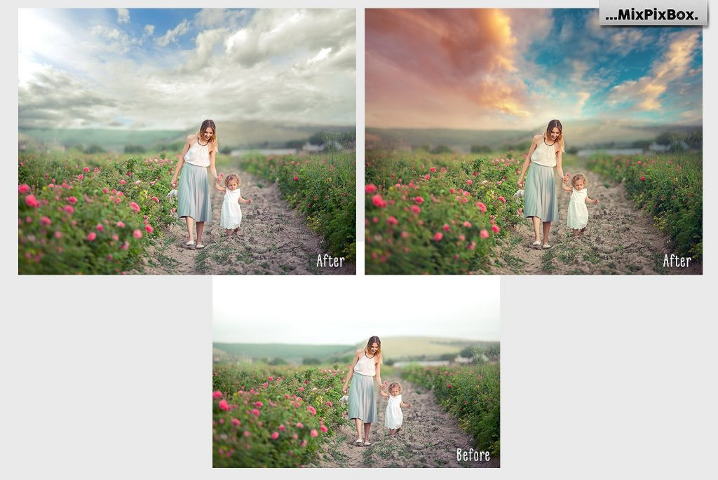 Beautiful Sky Photography Overlays - $8 - 2 4
