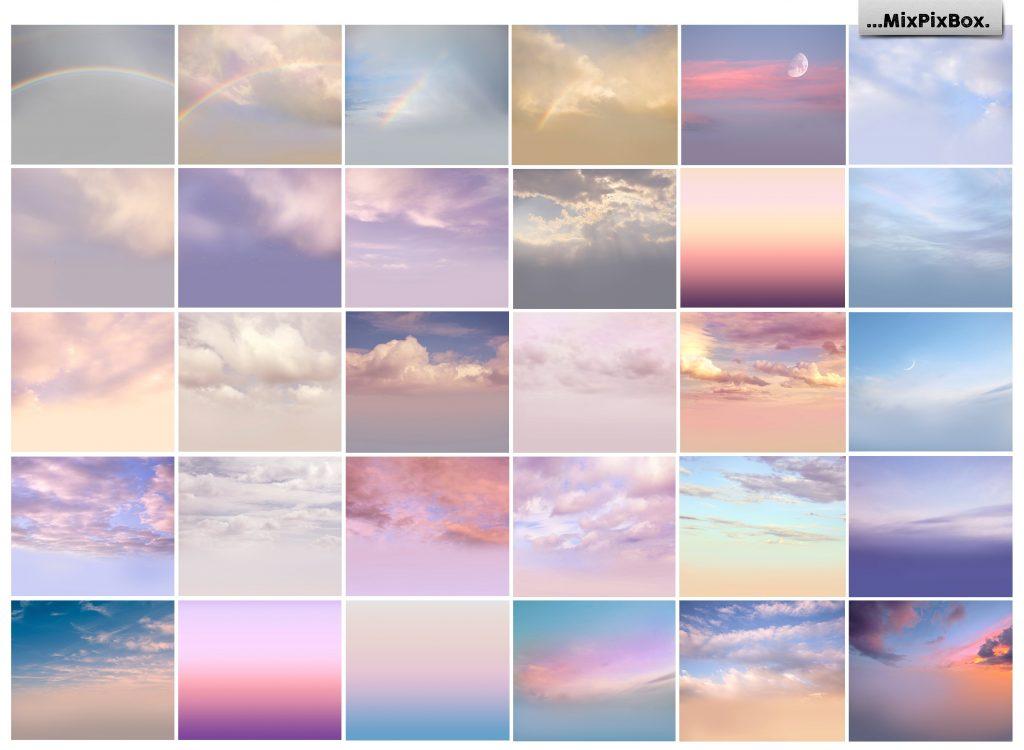Romantic Sky Photo Overlays - $9 - 2 7