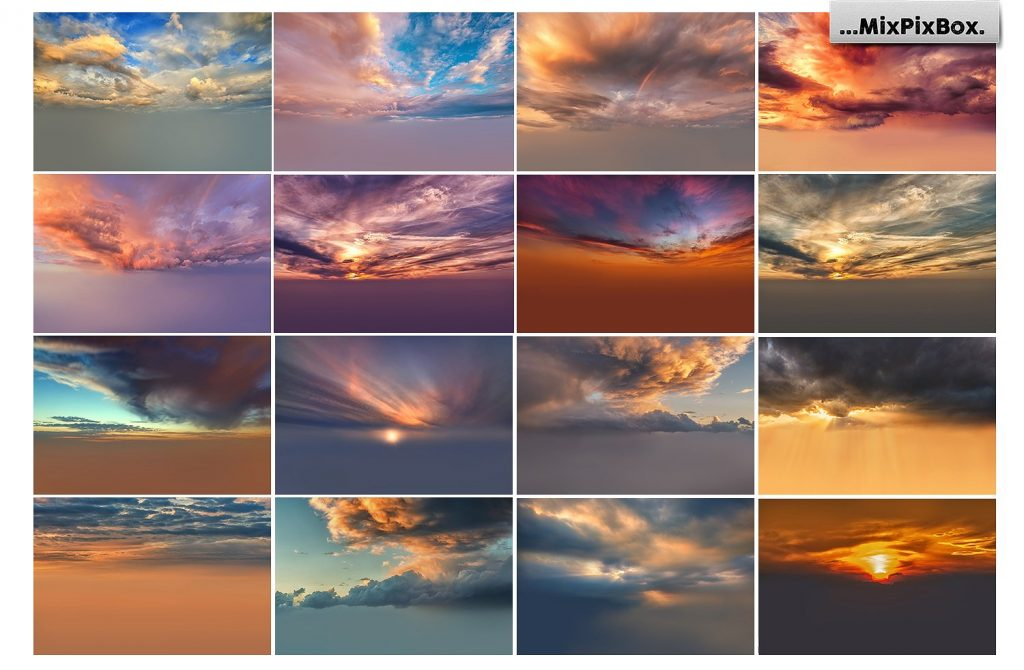 Beautiful Sky Photography Overlays - $8 - 3 4