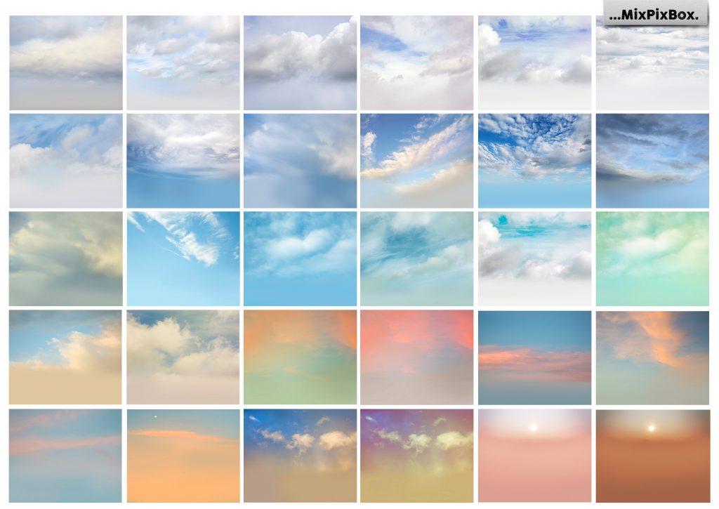 Romantic Sky Photo Overlays - $9 - 3 8