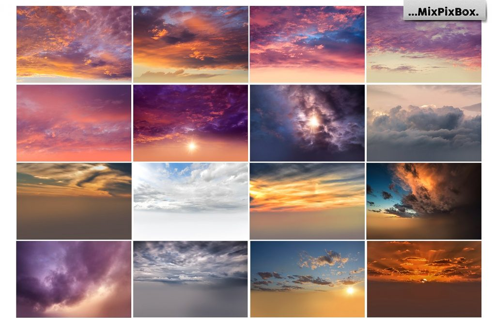 Beautiful Sky Photography Overlays - $8 - 4 4