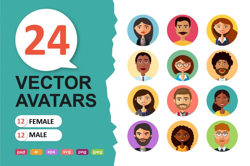 Vector Avatars Cartoon - $12 - 4ead34358b4c636ffe4e863531f0bccf resize 2