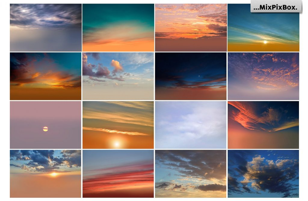 Beautiful Sky Photography Overlays - $8 - 5 3