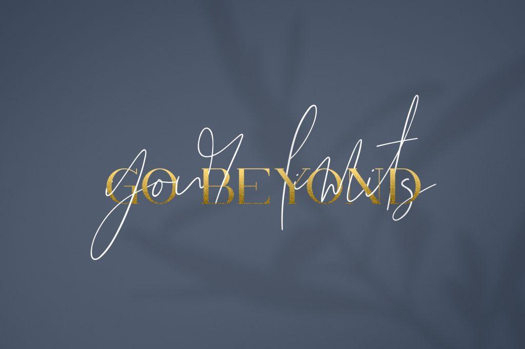 Kalorama Font Duo (serif and script) - $19 - 7 1