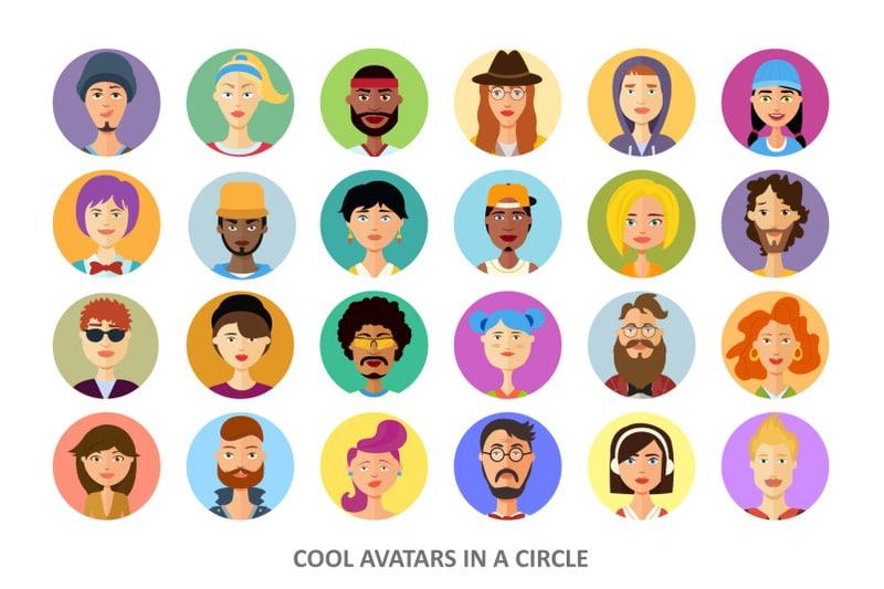 Vector Avatars Cartoon People Friends Set - 800 3602175 zyht4gtlzp6y3lofl6ptlphbjd8pwdix62akwbwu vector avatars cartoon people friends set